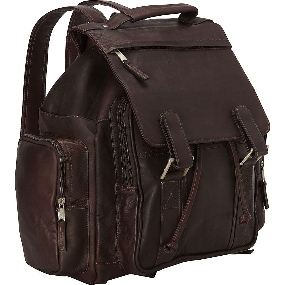 Latico Leathers Discovery Backpack - Large Caf © - Latico Leathers Everyday Backpacks