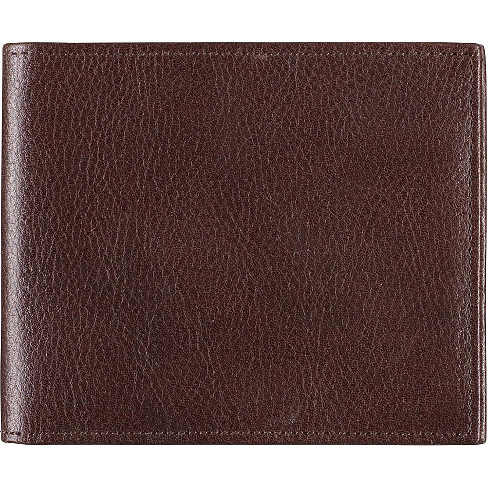 Johnston Murphy Slimfold Wallet Dark Brown Johnston Murphy Men s Wallets
