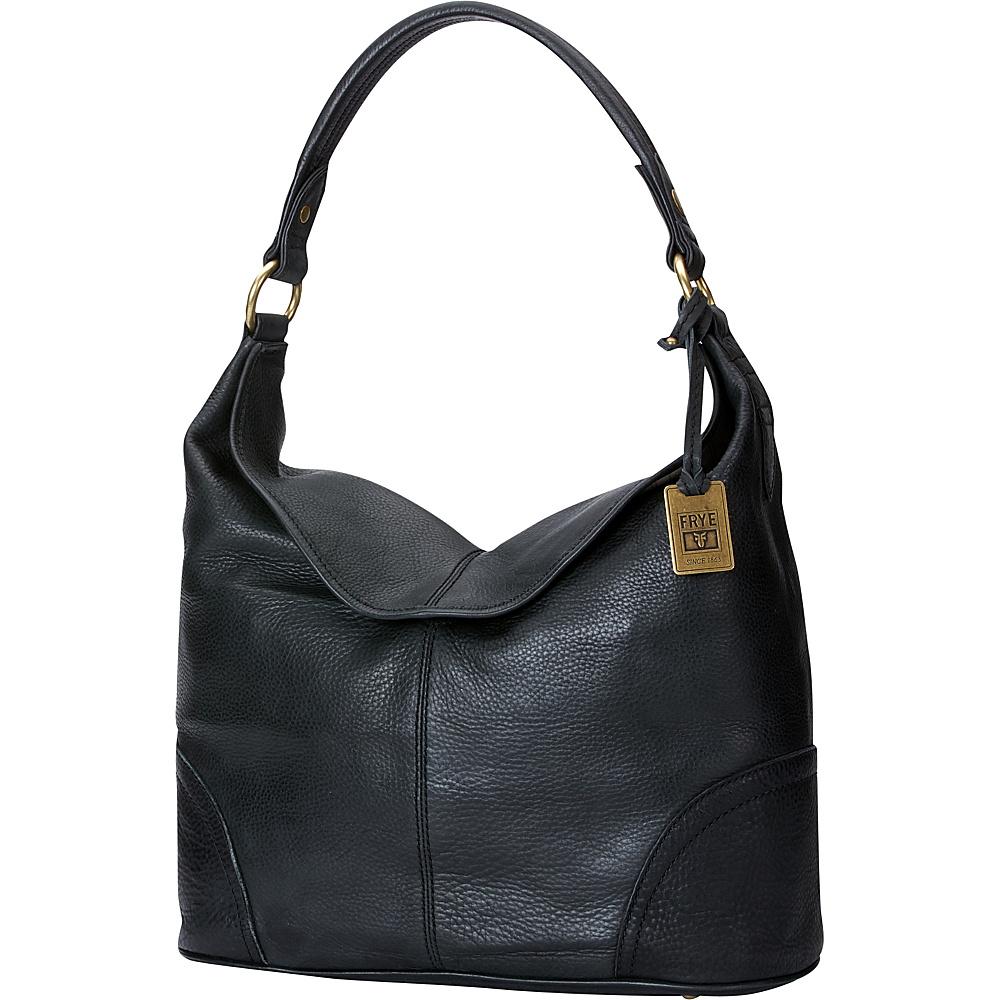 Frye Campus Hobo Black - Frye Designer Handbags