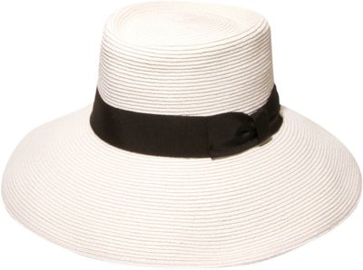 Gottex Santana Hat One Size - White/Black - Gottex Hats/Gloves/Scarves
