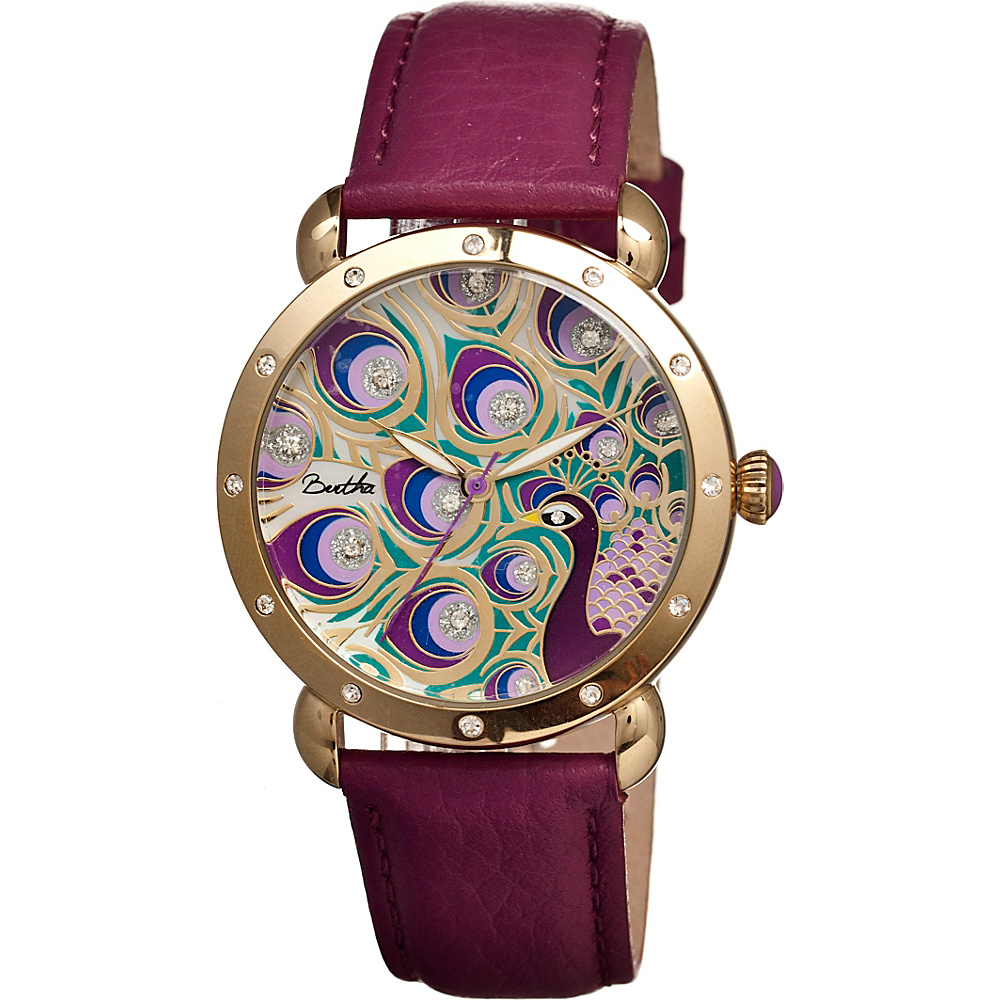 Bertha Watches Genevieve Watch Fuchsia Multicolor Bertha Watches Watches