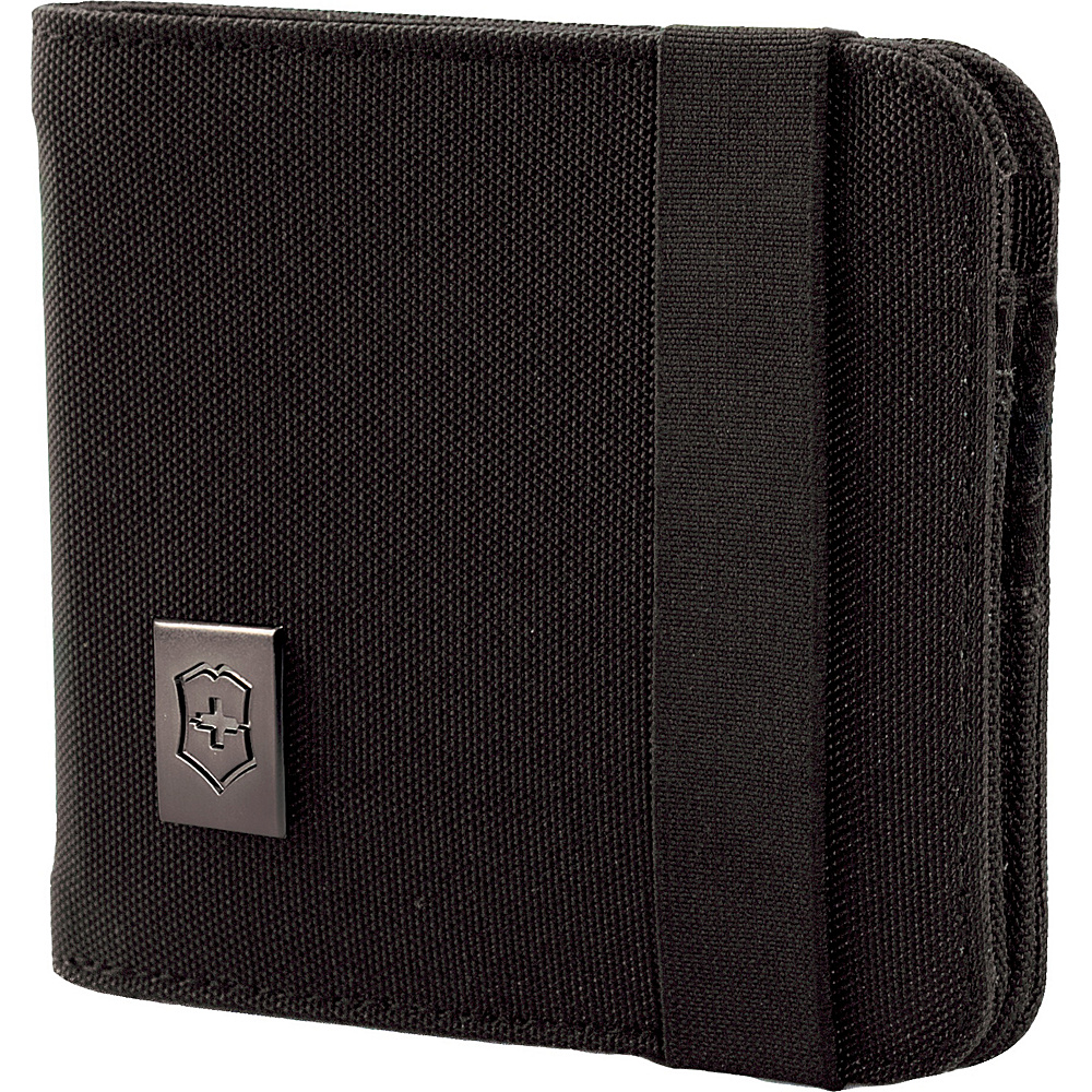 Victorinox Lifestyle Accessories 4.0 Bi Fold Wallet Black Victorinox Men s Wallets