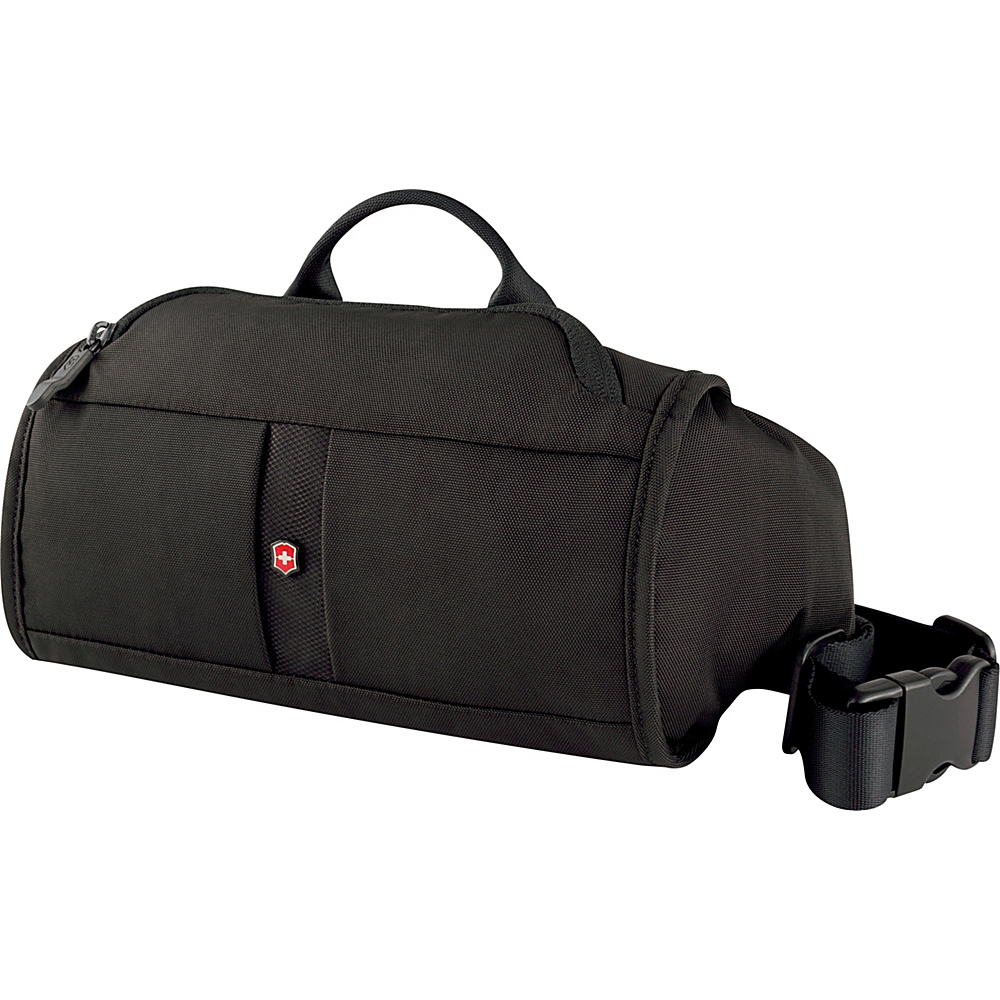 Victorinox Lifestyle Accessories 4.0 Lumbar Pack with RFID Protection Black Victorinox Waist Packs