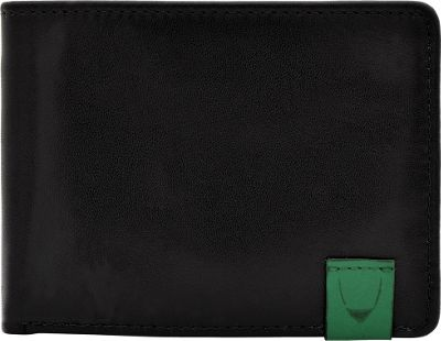 Hidesign Dylan Slim Thin Simple Leather Bifold Wallet Black - Hidesign Men's Wallets