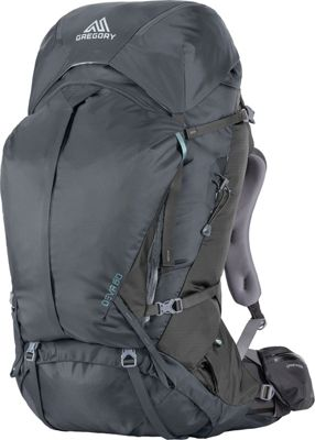 Gregory Deva 60 Small Pack Charcoal Gray - Gregory Day Hiking Backpacks