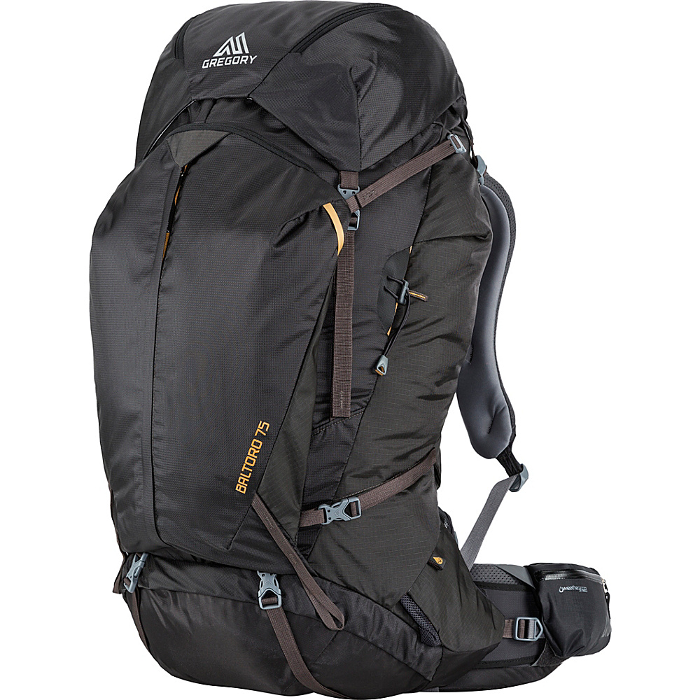 Gregory Men s Baltoro 75 Small Pack Shadow Black Gregory Day Hiking Backpacks