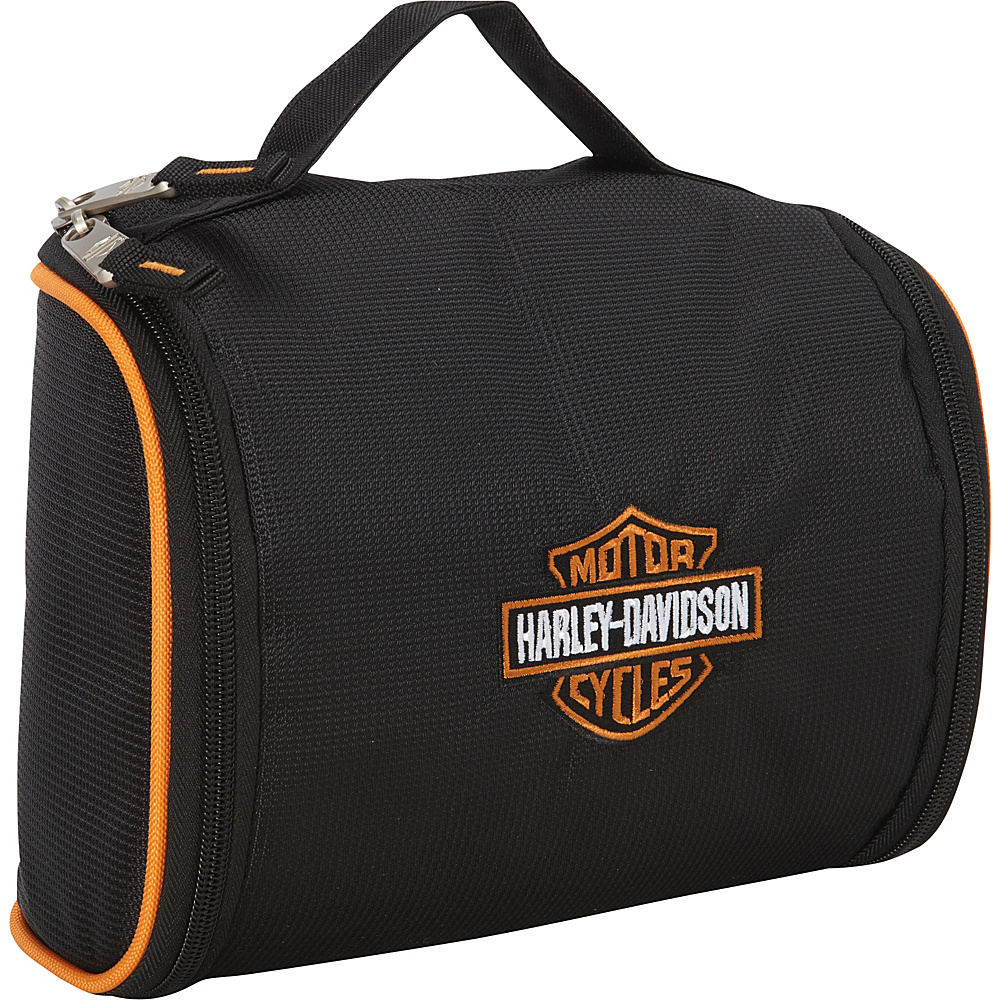 Harley Davidson by Athalon Fabric Toiletry Kit Black Harley Davidson by Athalon Toiletry Kits