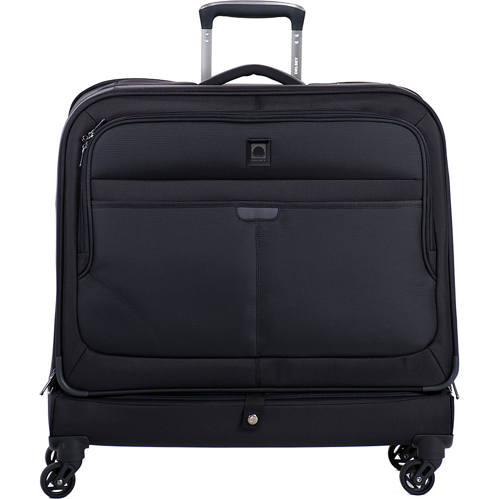 Delsey Helium Pilot 3.0 Trolley Garment Bag Black - Delsey Garment Bags