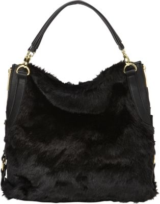 Olivia + Joy St. Monica Hobo Black - Olivia + Joy Leather Handbags