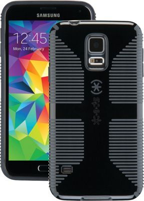 Speck- Do not use Samsung Galaxy S5 Candyshell Grip Case Black/Slate Gray - Speck- Do not use Electronic Cases