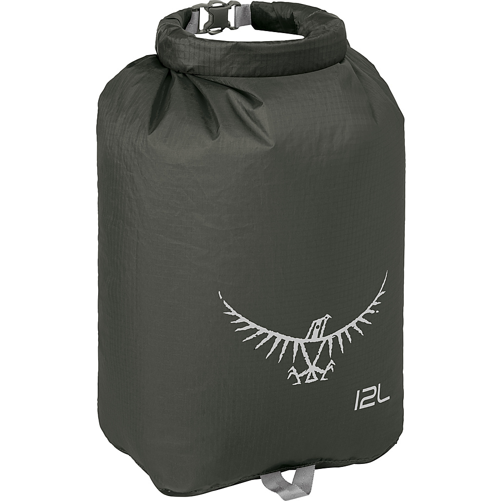 Osprey Ultralight Dry Sack Shadow Grey – 12L - Osprey Outdoor Accessories - Outdoor, Outdoor Accessories