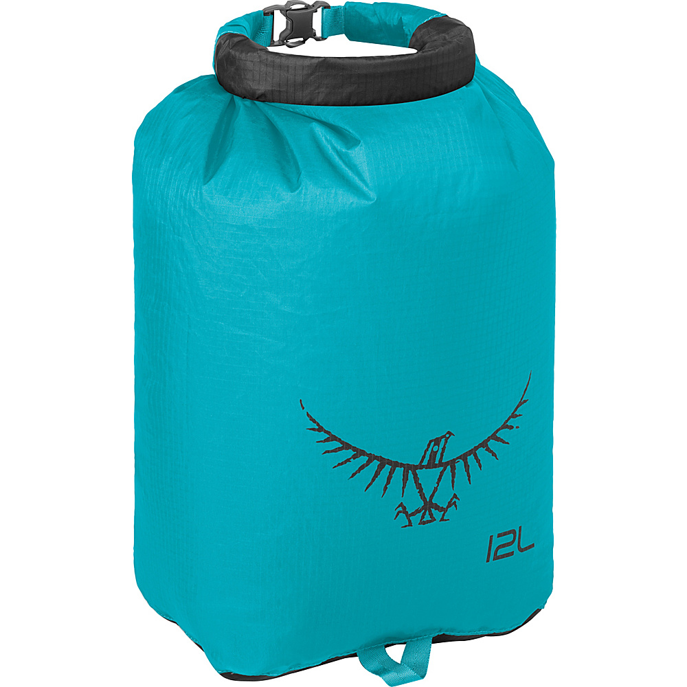 Osprey Ultralight Dry Sack Tropic Teal – 12L - Osprey Outdoor Accessories - Outdoor, Outdoor Accessories