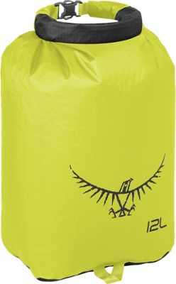 Osprey Ultralight Dry Sack Electric Lime â?? 12L - Osprey Outdoor Accessories