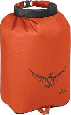 Osprey Ultralight Dry Sack Poppy Orange â?? 12L - Osprey Outdoor Accessories
