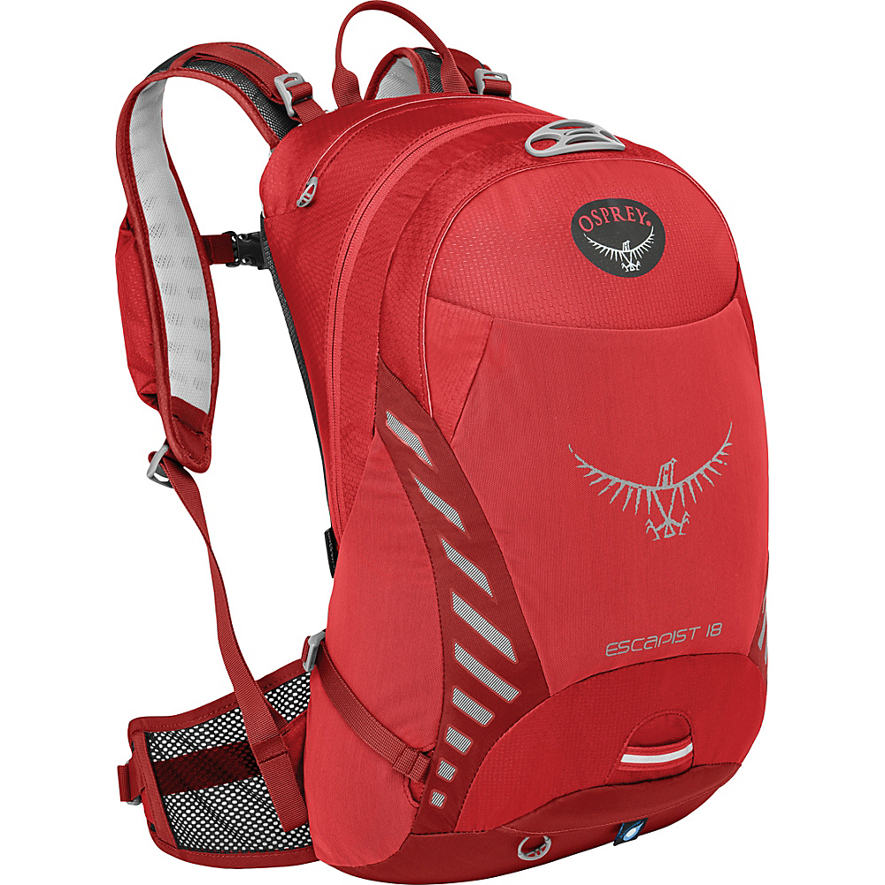Osprey Escapist 18 Cayenne Red – M/L - Osprey Day Hiking Backpacks - Outdoor, Day Hiking Backpacks