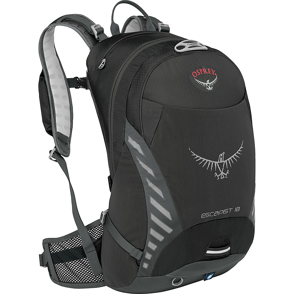 Osprey Escapist 18 Black - M/L - Osprey Day Hiking Backpacks - Outdoor, Day Hiking Backpacks