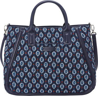 Vera Bradley Trapeze Tote Marrakesh Motifs - Vera Bradley Fabric Handbags