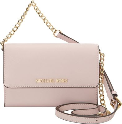 MICHAEL Michael Kors Jet Set Large Phone Crossbody Blossom - MICHAEL Michael Kors Designer Handbags
