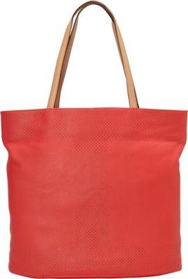 Isaac Mizrahi Kay N/S Tote Watermelon - Isaac Mizrahi Leather Handbags
