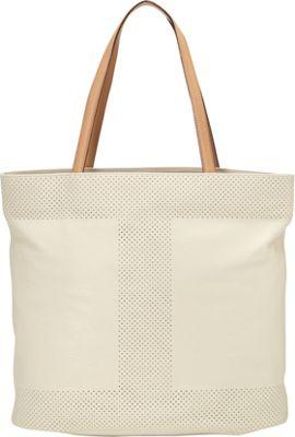 Isaac Mizrahi Kay N/S Tote Antique White - Isaac Mizrahi Leather Handbags