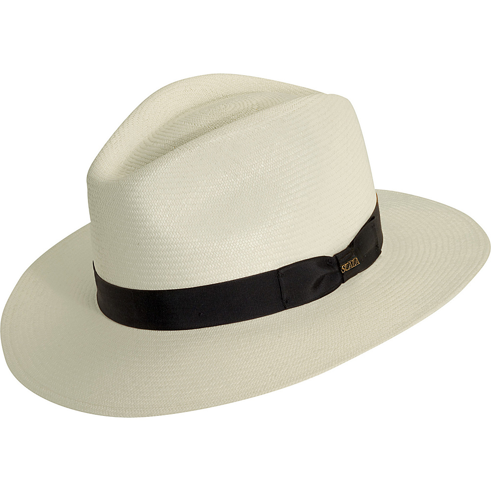 Scala Hats Panama Safari Hat Bleach XXLarge Scala Hats Hats Gloves Scarves