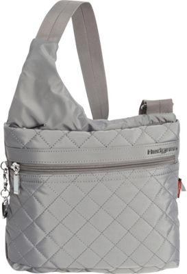 Hedgren Liza Crossbody Mouse Grey - Hedgren Fabric Handbags
