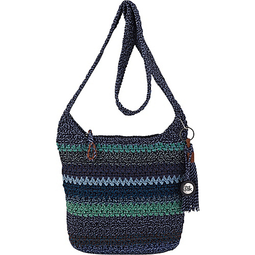 The Sak Casual Classics Crossbody Neptune Stripe - The Sak Fabric Handbags