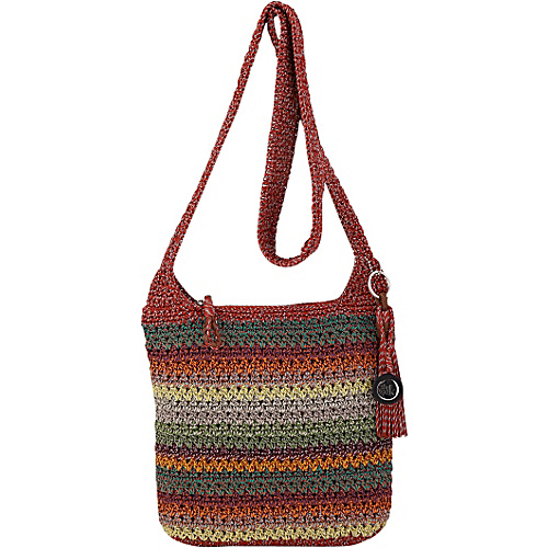 The Sak Casual Classics Crossbody Gypsy Stripe - The Sak Fabric Handbags