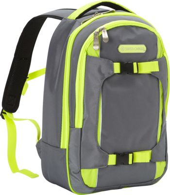 Swiss Cargo TruLite Backpack Grey Green - Swiss Cargo Business & Laptop Backpacks