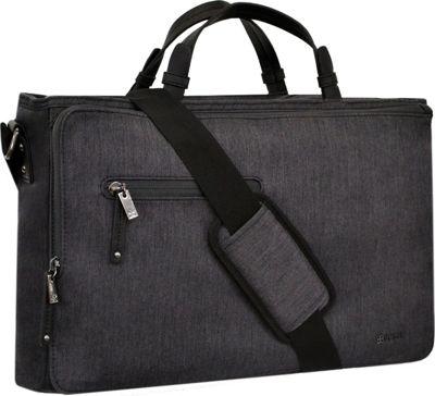 Sherpani Large Commuter Messenger Heathered Black - Sherpani Messenger Bags