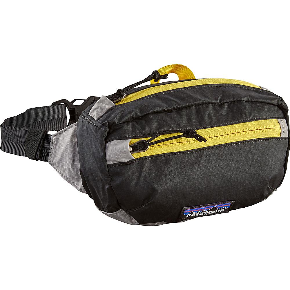 Patagonia Lightweight Travel Mini Hip Pack Forge Grey/Chromatic Yellow - Patagonia Waist Packs - Backpacks, Waist Packs