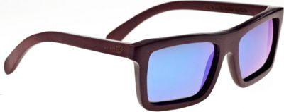 Earth Wood Hamoa Sunglasses Red Rosewood - Earth Wood Sunglasses