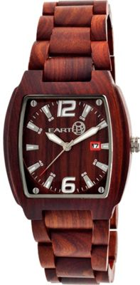 Earth Wood Sagano Watch Red Rosewood - Earth Wood Watches