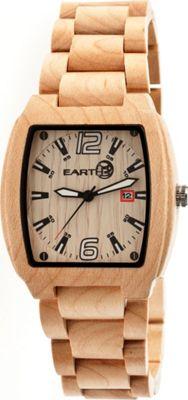 Earth Wood Sagano Watch Khaki/Tan - Earth Wood Watches