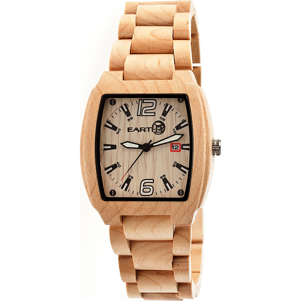 Earth Wood Sagano Watch Khaki Tan Earth Wood Watches