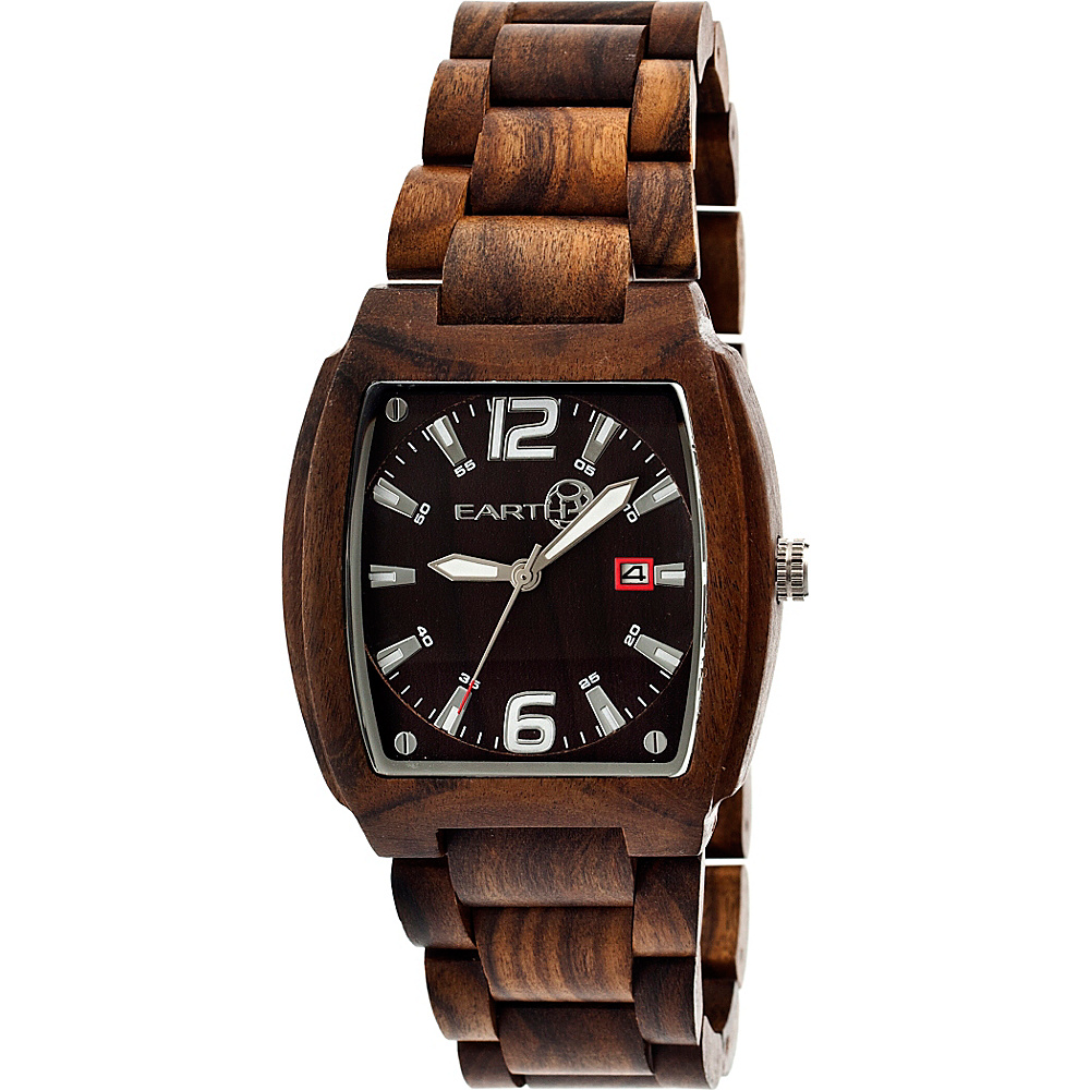 Earth Wood Sagano Watch Espresso Earth Wood Watches