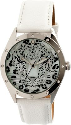 Image of Bertha Watches Alexandra Leather Watch White - Bertha Watches Watches