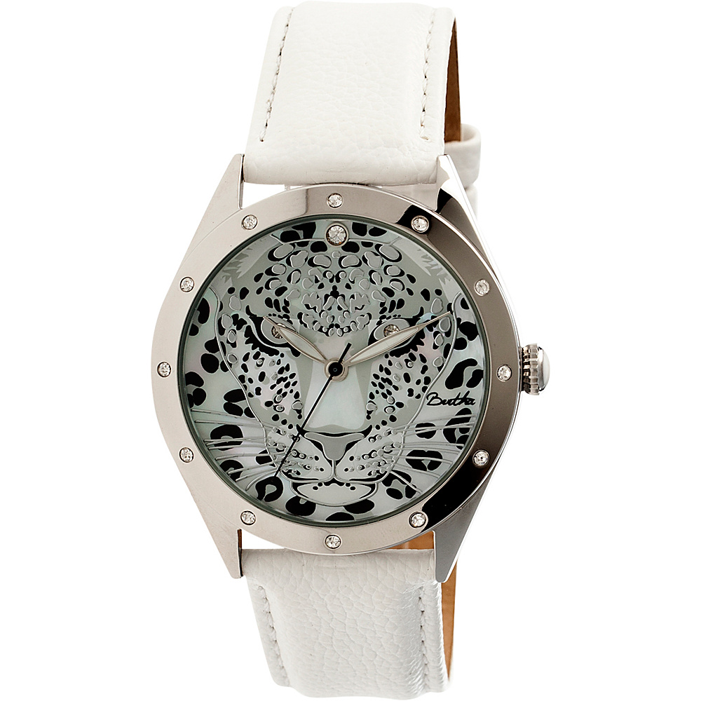 Bertha Watches Alexandra Leather Watch White Bertha Watches Watches