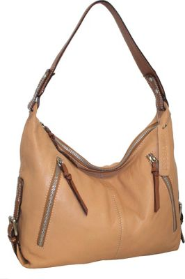 Nino Bossi Helena Hobo Peanut - Nino Bossi Leather Handbags