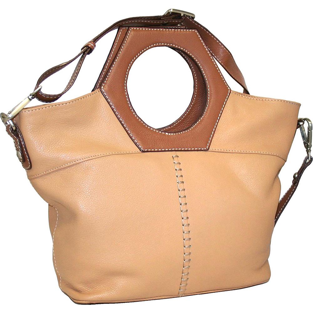 4c65f6b16b  67.99 More Details · Nino Bossi Cut it Out Satchel Peanut - Nino Bossi  Leather Handbags