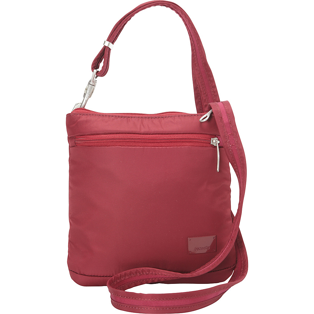 Pacsafe Citysafe CS50 Cranberry Pacsafe Fabric Handbags