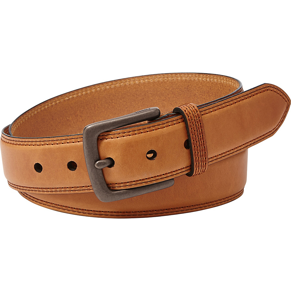 Fossil Mitch Belt 42 - Cognac - Fossil Belts - Fashion Accessories, Belts
