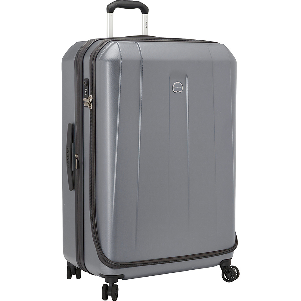 "Delsey Helium Shadow 3.0 29"" Spinner Suiter Trolley Platinum - Delsey Hardside Checked"