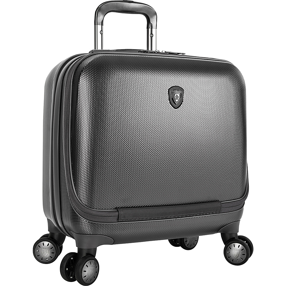 Heys America Portal SmartLuggage Business Case Pewter Heys America Hardside Carry On