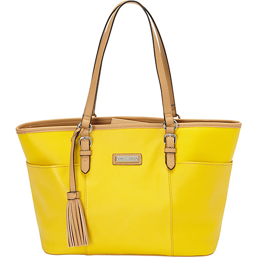 Tignanello Preppy Classic Tote - Solids Daisy Yellow - Tignanello Leather Handbags