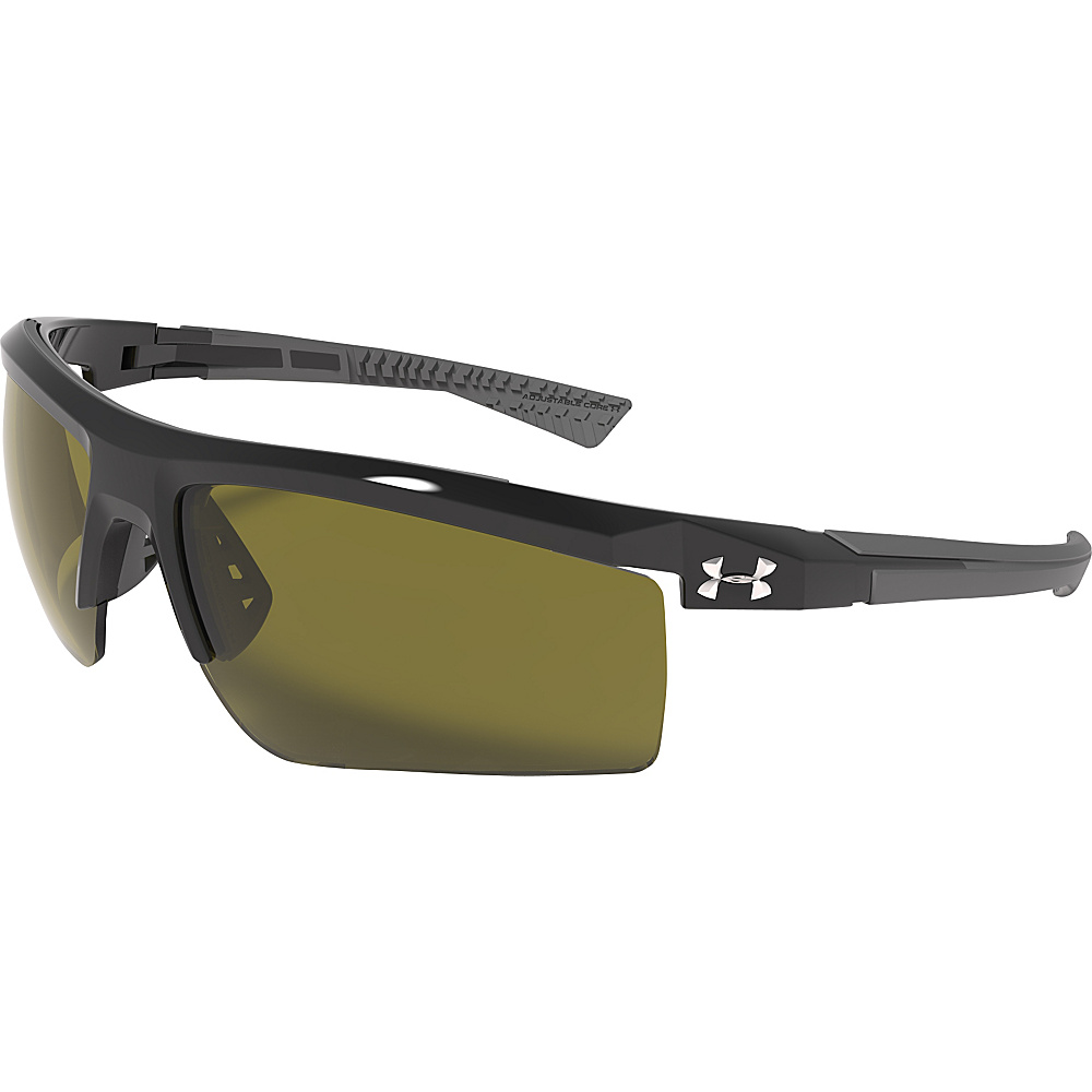 Under Armour Eyewear Core 2.0 Sunglasses Shiny Black Game Day Under Armour Eyewear Sunglasses