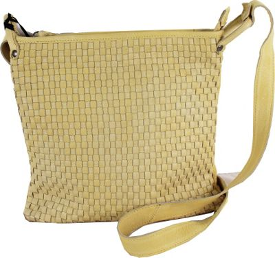Latico Leathers Wren Crossbody Yellow - Latico Leathers Leather Handbags