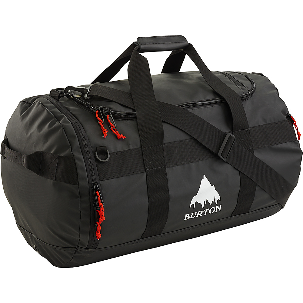 Burton Backhill Duffle Medium 70L True Black Tarp Burton Outdoor Duffels