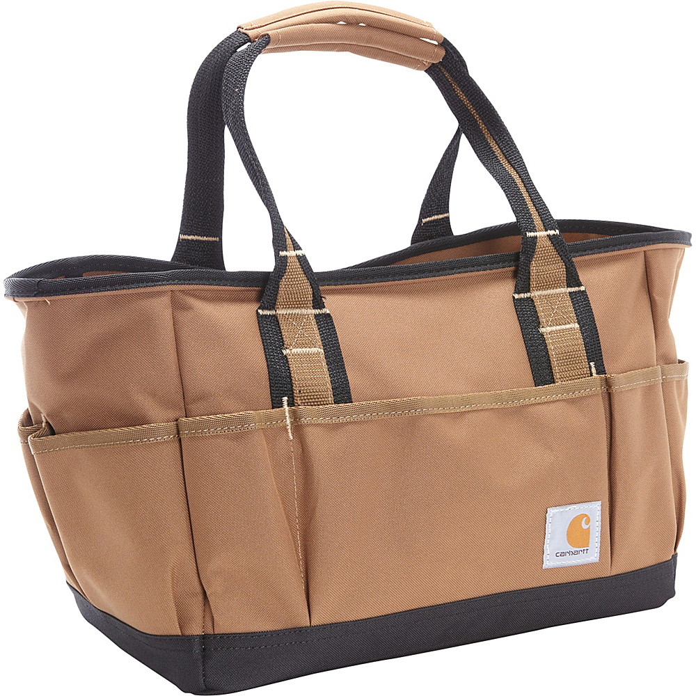 "Carhartt 14"" Tool Tote Carhartt Brown - Carhartt All Purpose Duffels"