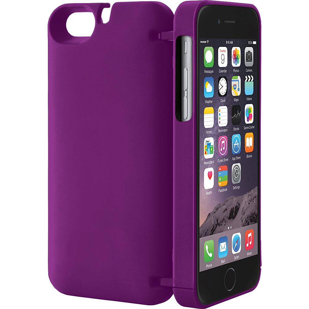 eyn case iPhone 6 Plus/6s Plus wallet/storage Case Purple - eyn case Electronic Cases